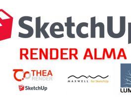 Sketchup Render Alma