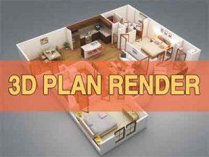 3d-plan-render