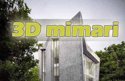 3d mimari