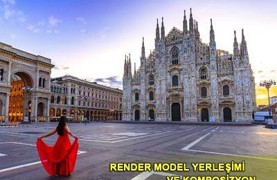 render model yerleşimi
