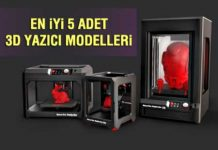 En iyi 5 Adet 3D Yazici Modelleri