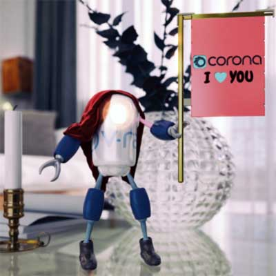 corona render motoru