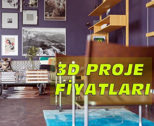 3d proje fiyatlari - 3D Proje Fiyatları 2019
