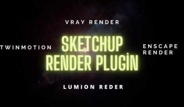 sketchup render plugin